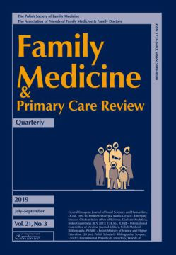 Zeszyt 3/19 Family Medicine & Primary Care Review