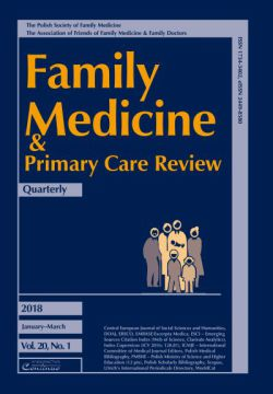 Prenumerata 2018 Family Medicine & Primary Care Review